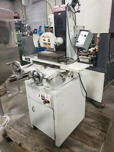 Harig bridgeport Model 612 Manual Surface Grinder W Electromag Chuck 6 X 12