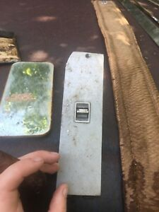 1966 Cadillac Coupe Passenger Side Power Window Switch And Trim