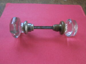 Vintage Glass Door Handle Knobs Knob Square Shaft Check It Out