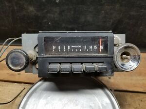 1971 Ford Truck F 150 Radio Am Push Button 71 Ford Truck Oem Untested 108