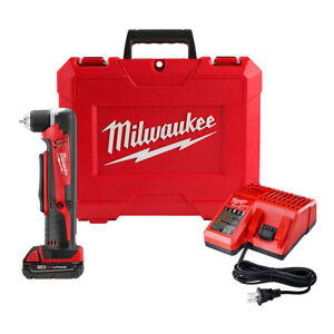 Milwaukee 2615 21 Ct M18 Right Angle Cordless Drill Kit