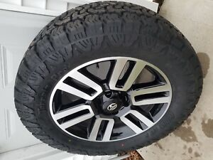 20 Toyota Limited 4runner Tacoma Oem Stock Wheels Rims Amp Tires 275 60r20