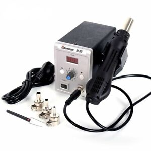 Iron Soldering Station 700w Hot Air Gun 858d Esd Led Digital Repair Desoldering