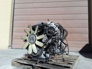 1981 1985 Mercedes 300d Turbo W123 Engine Motor With Automatic Transmission Oem