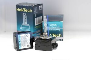 2x D1s Oem Philips Osram Replacement By Hoktech Black Edition Xenon Bulb 5000k