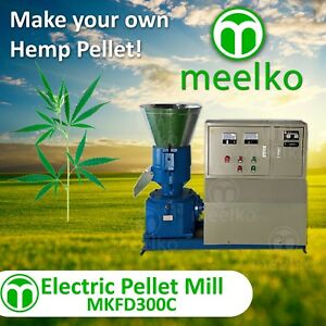 Pellet Mill 22kw Electric Engine Pellet hemp