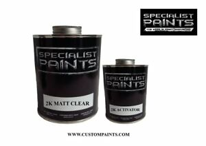 2k Matt Clear 1 Pint Kit Including Activator Auto Paint Motorcycle Hok Ppg