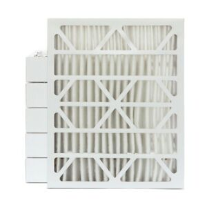 16x20x4 Merv 13 Pleated Ac Furnace Air Filters 6 Pack actual Depth 3 3 4