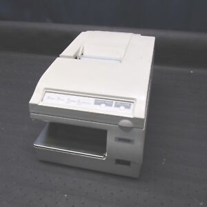 Epson Tm u375 Pos Receipt Printer Model M63ua