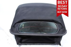 05 08 Porsche Boxster 987 Convertible Roof Top Cover Soft Top Assembly Black A23