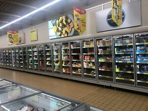 Hussmann 22x Glass Innovator Door Freezer Grocery Display Case Rltm 2015 Model