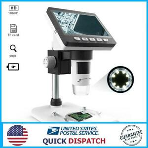 Mustool G700 4 3 Inches Hd 1080p Portable Desktop Lcd Digital Microscope 10 8