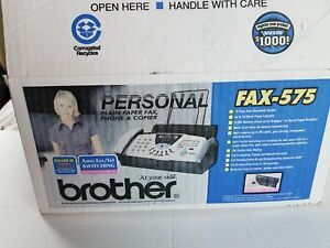 Brand New Brother Fax 575 Personal Plain Paper Fax Phone Copier