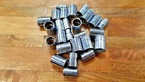 26 Sk Sae Sockets 1 2 Drive Mixed Lot Free Shipping Made In Usa Quality