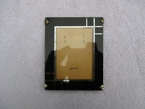 Small Vintage Art Deco Era Reverse Glass Picture Easel Frame Fits 3 X 4