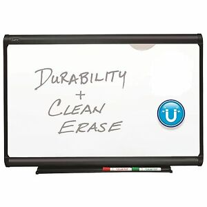 Quartet Prestige Plus Dry Erase Board 36 X 24 with Box Of Markers Hardware