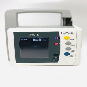Phillips Intellivue X2 M3002a Transport Patient Monitor Masimo Spo2 Sw H 15 31