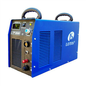 Plasma Cutter Pilot Arc 220v Igbt 80amp New Lotos Ltp8000 Cuts 1 Steel Metals