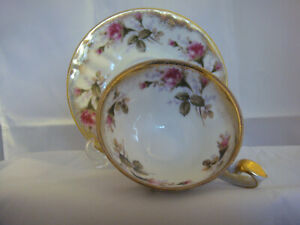 Royal Sealy Fine China Made In Japan Cup And Saucer Floral