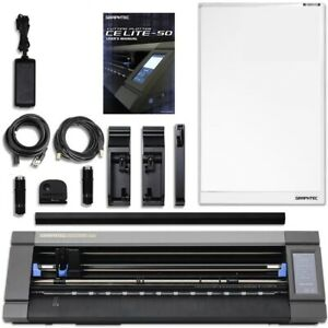 Graphtec Ce Lite 50 20 Inch Desktop Vinyl Cutter Plotter Includes 2 Blades