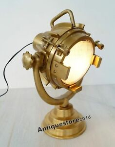 Vintage Designers Lamp Spotlight Searchlight Table Lamp Royal Decorative