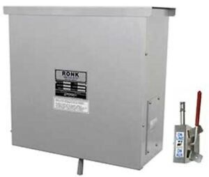 Ronk 9406 Double Pole Double Throw 400 Amp Pole Top Transfer Switch