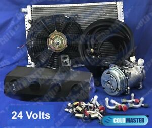 A c Kit Universal Under Dash Evaporator Hd Kit Air Conditioner 24v 450 000 Hd