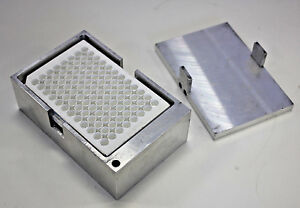 Microplate Incubator Block For Vwr Heatblock Ii Dry Bath Solid Aluminium