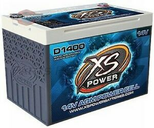 Xs Power D1400 14v Agm Battery Max Amps 2 400a Ca 675a