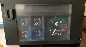 Case 580 Series Tractor Instrument Panel A187965 Used Replaces D136323