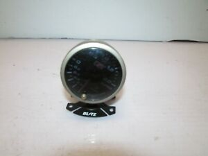 Jdm Blitz Auto Meter Backlit Aftermarket Turbo Boost Pressure Gauge Old School