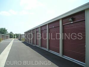 Duro Steel Mini Self Storage 40x100x9 5 Metal Prefab Building Structures Direct