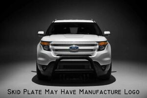 Atu 2011 2019 Ford Explorer Black Bull Bar Brush Guard Push Bumper Protect Plate