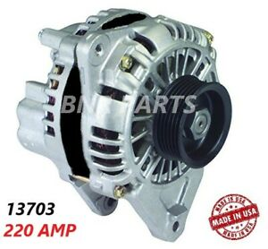 220 Amp 13703 Alternator Mitsubishi 3000gt Dodge Stealth High Performance Hd