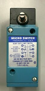 Honeywell Micro Switch Heavy Duty Limit Switch Lsy Ab4l