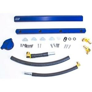 Bbk Performance 5010 1986 1993 Mustang High Flow Billet Aluminum Fuel Rail Kit