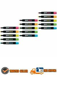 Neon Dry Erase Marker 3 Pack 15 Markers