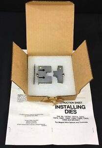 Thomas Betts 13684 Die For 22l009 Dragon Tooth Crimp Connectors Tnb