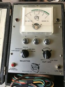 Vintage B K Crt Cathode Rejuvenator Tester Model 400