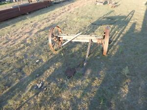 Old Wagon Wheels And Axle Antique Primitive New Mexico