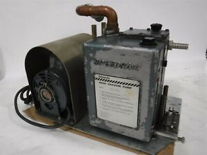 Used Edwards Es 330 Speedivac High Vacuum Pump Ge Motor B