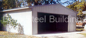 Durobeam Steel 30x40x13 Metal Garage Building Automobile Storage Workshop Direct