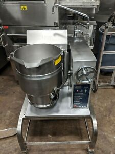 Groen Tdhc 20 Countertop 20 quart Crank Tilt Natural Gas Kettle With Stand Nice