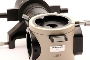 Olympus Reflected Light Fluorescence Attachment Bh2 rfl W 3 Dichroric Mirrors
