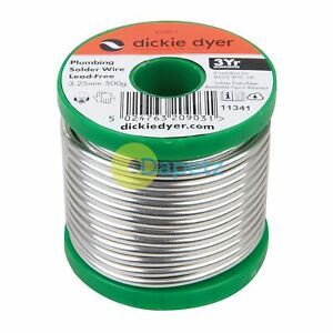 Plumbing Solder Wire Lead free 3 25mm 500g Solid For Drinking Water Applications