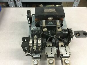 Used Ge Size 5 480vac Coil 3pole Starter Cr306go xbna