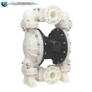 New 2 Inch Tf Diaphragm Chemical Industrial Resistant Poly Pump