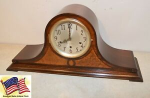 Fully Restored Seth Thomas Mahogany Maple Antique Chime Clock No 60 1936