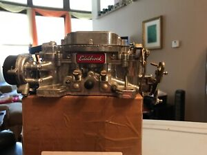 Used Edelbrock Carb 600 Cfm With Electric Choke
