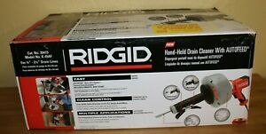 Ridgid Hand held Drain Cleaner With Autofeed K 45af 35473
